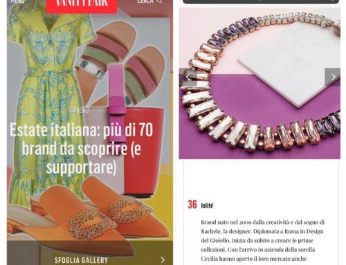 Vanity Fair – Iolité per l'Associazione Per Nia Onlus